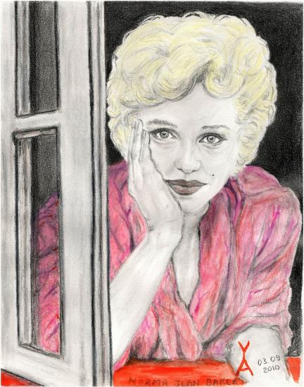 Marilyn Monroe par Yael-Assia